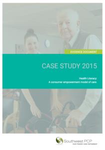 Health Lieracy Case Study  2015